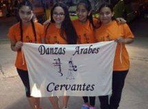 Cervantes en la final nacional de Danzas Árabes