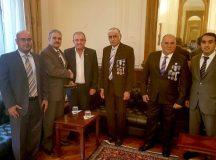 Pesatti se reunió con el Embajador de Kuwait