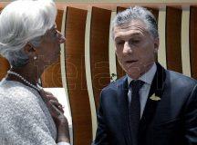 Macri recibe a la titular del Fondo Monetario Internacional, Christine Lagarde