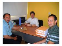 AUTORIDADES DEL IPPV RECIBIERON AL COMISIONADO DE ARROYO VENTANA