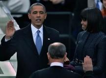 SEGUNDO MANDATO: Ante una multitud, Obama juró con un fuerte llamado a la unidad
