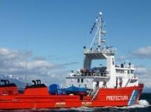 """MISIÓN: El buque """"Tango"""" arribó a la Antártida para tareas de prevención"""
