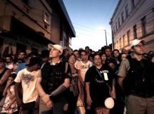INCENDIO EN BRASIL: Miles de personas marcharon en Santa María por las víctimas del incendio en la discoteca