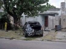 BS.AS.:Murió un funcionario de la Ciudad tras incrustarse con su auto en una casa