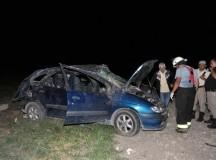 Murió una mujer luego de un vuelco en Ruta 22 en La Adela