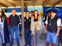 CERVANTES: Montanaro presidió la apertura del campeonato provincial de jineteada