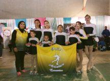 CERVANTES: La Escuela Municipal de Patín se lució en la primera jornada