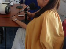 PRINCESA DE LA ALFALFA VISITÓ RADIO LA BARCAZA