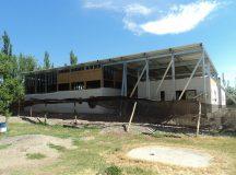 CERVANTES: Colonia Fátima – Avanza la construcción del nuevo edificio para el jardín de infantes Nº 102