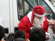 Papá Noel visitará los barrios de Cervantes