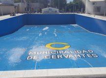 CERVANTES:  Inscripción escuela municipal de natación