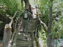 Piden un nuevo puente peatonal en río Ñireco