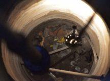 Caso Solano: ahora tratan de romper una capa de cemento a 60 metros