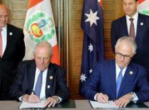Lima afirma que el acuerdo de libre comercio con Australia regirá en 6 meses