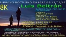 Luis Beltrán: Running nocturno en parejas