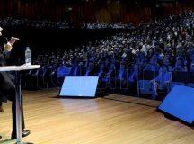 Macri encabeza una reunión del gabinete ampliado en el CCK