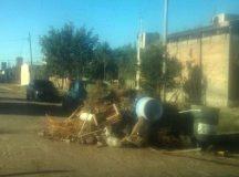 CERVANTES: Se realizan trabajos en Colonia Fátima