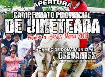 CERVANTES: Apertura del campeonato provincial de jineteada.