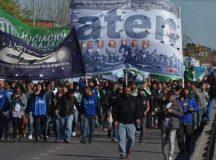 Paro de CTA: Concentración en el centro de Neuquén para cortar la Ruta 22