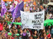 Paro de Mujeres para repudiar el fallo por el crimen de Lucía Pérez