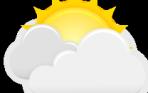 Pronóstico: martes cálido y de nubosidad variable