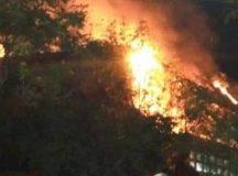 Ardió en llamas el CEM 9 de Roca: el gobierno dice que fue intencional